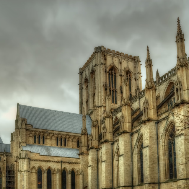 """The Minster"" stock image"