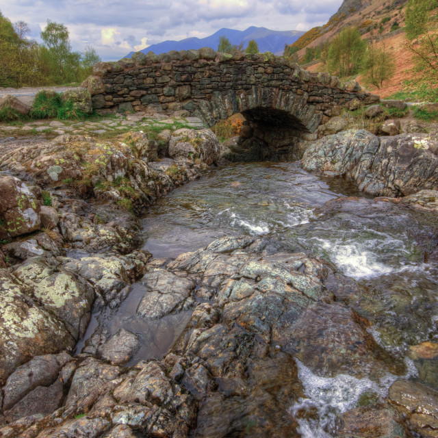 """Ashness Bridge"" stock image"