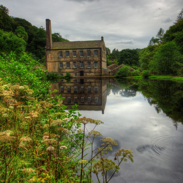 """""""Gibsons Mill"""" stock image"""