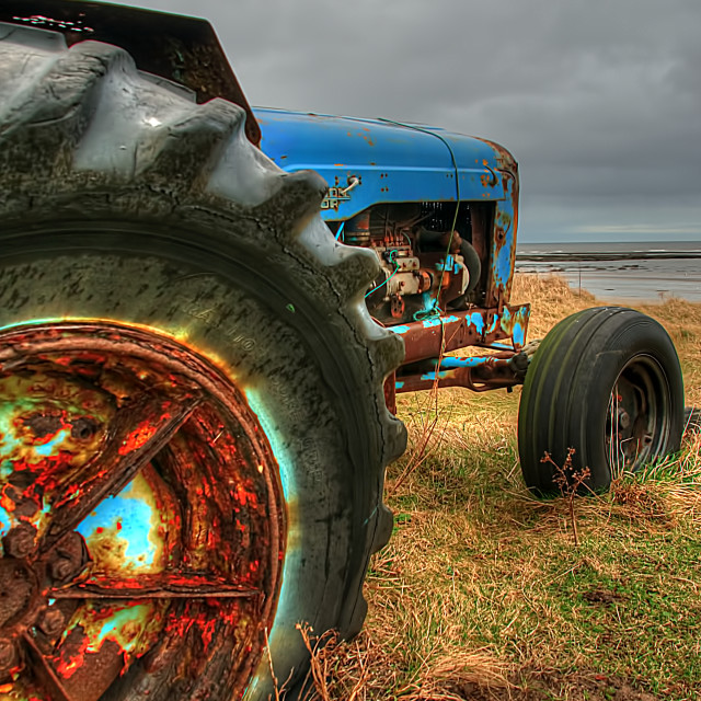 """""""Boulmer Tractor"""" stock image"""