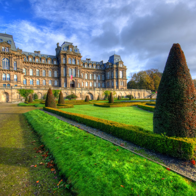 """""""Bowes Museum"""" stock image"""