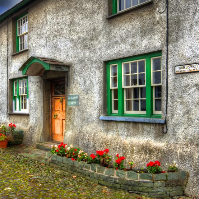 """Wordsworth Street"" stock image"