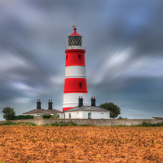 """Happisburgh Lighthouse"" stock image"