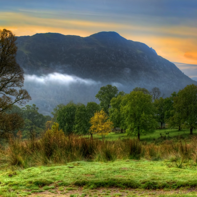 """Ullswater Views"" stock image"