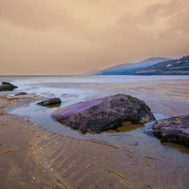"""The Dingle Peninsula"" stock image"