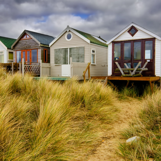 """Mudeford"" stock image"