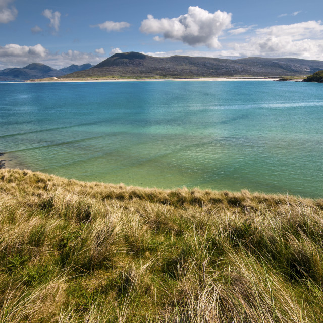 """Horgabost, Isle of Harris"" stock image"