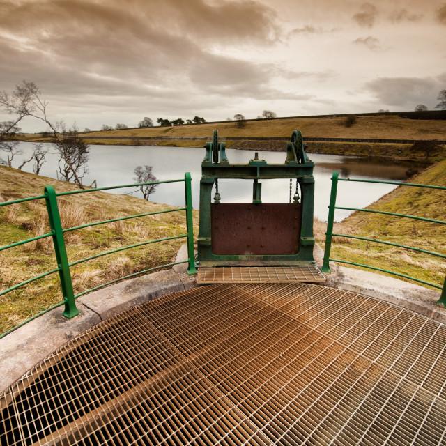 """Hury Reservoir"" stock image"