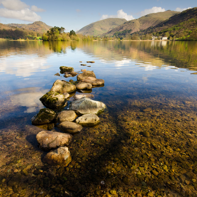 """Grasmere, Lake District"" stock image"