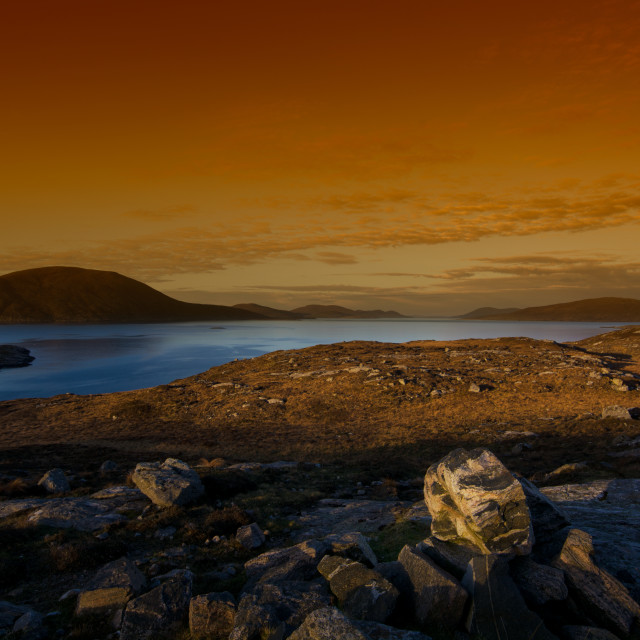 """North Harris Views"" stock image"