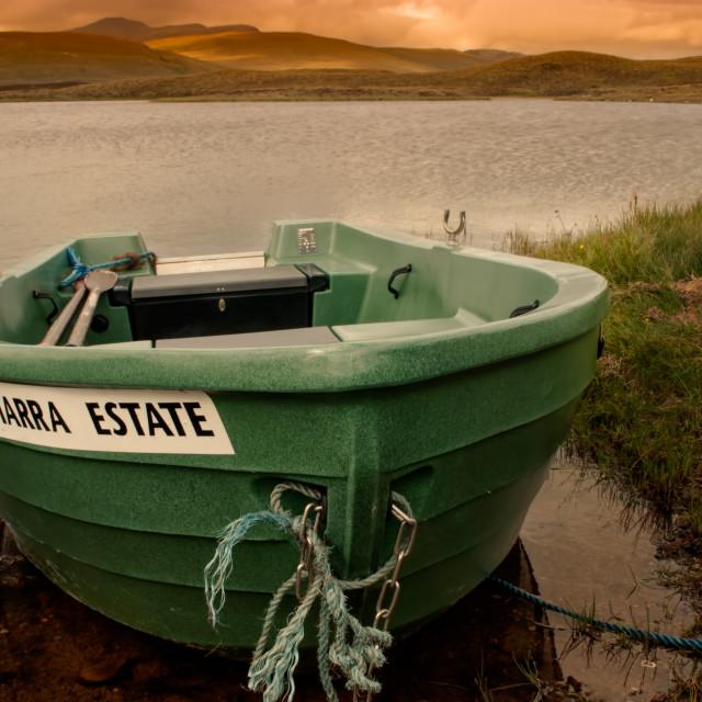 """Altnaharra Estate"" stock image"