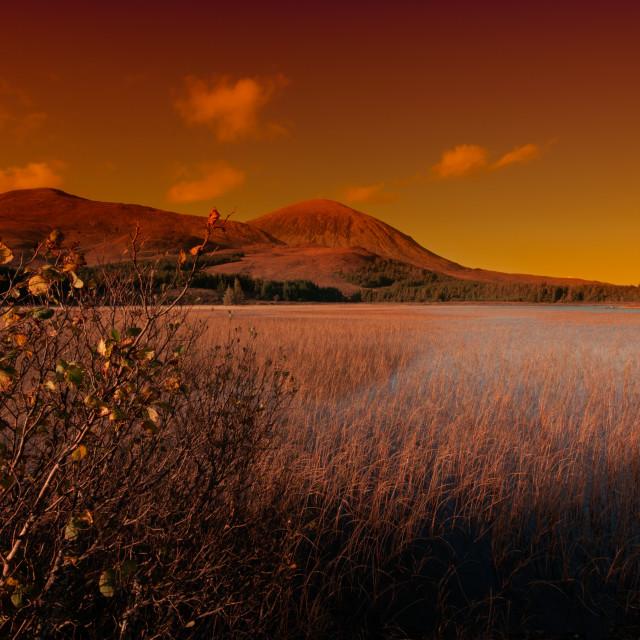 """Loch Cill Chrisod"" stock image"