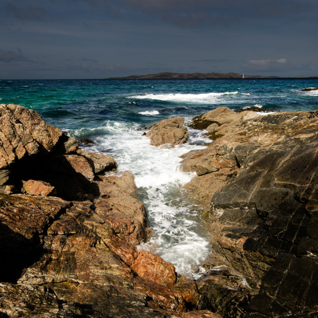 """Borve, Isle of Harris"" stock image"