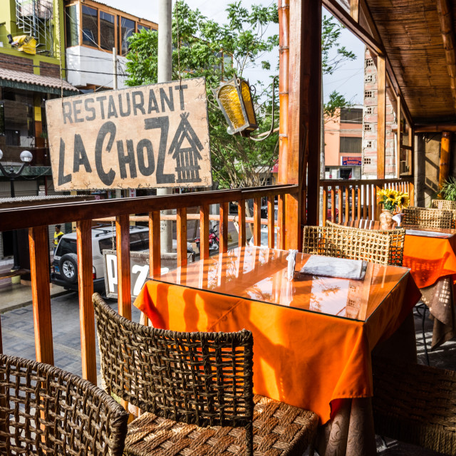 """Nazca restaurant"" stock image"