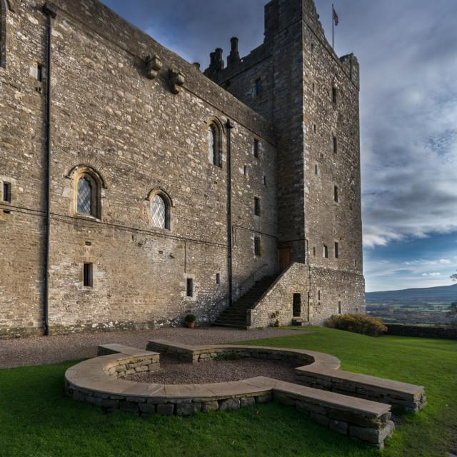 """Castle Bolton, Yorkshire"" stock image"
