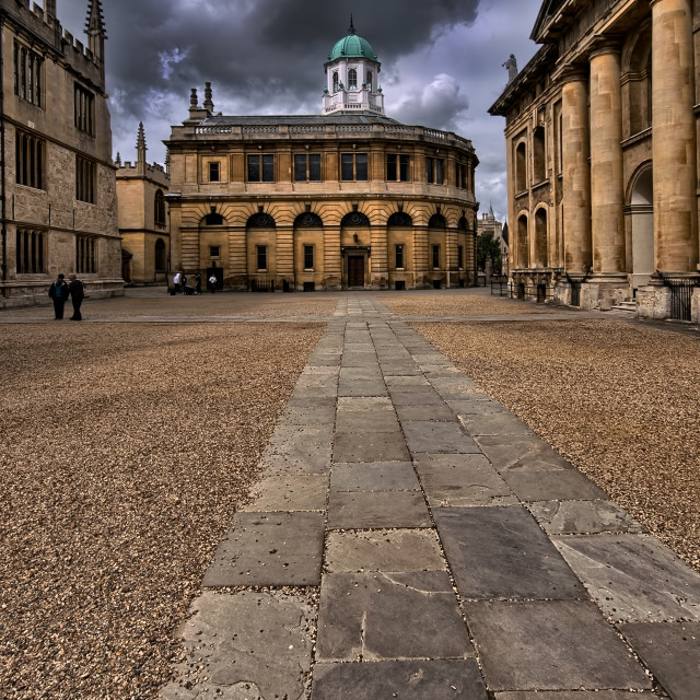 """Bodleian Library"" stock image"