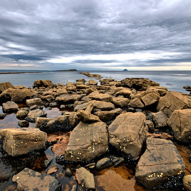 """Views To Ailsa Craig"" stock image"