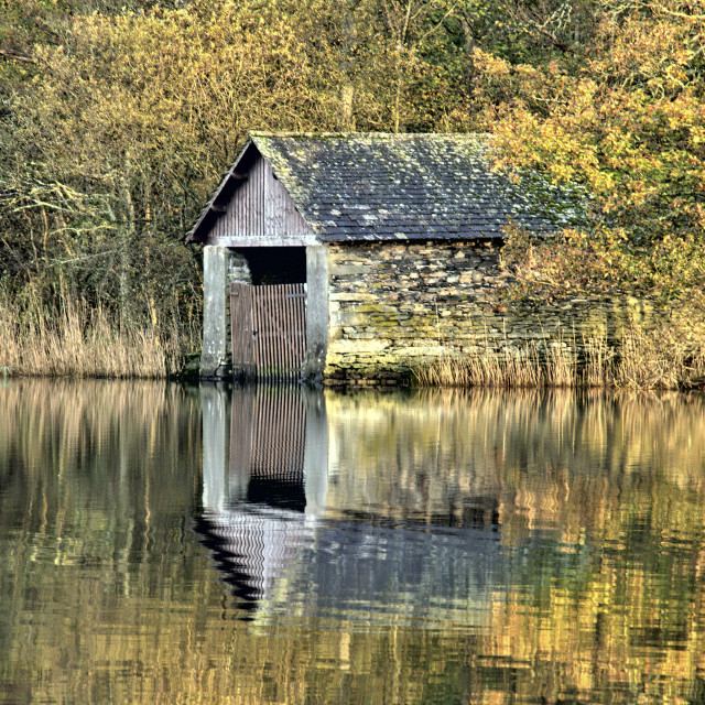 """Rydal Water"" stock image"