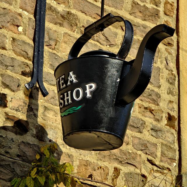 """Muker Tea Shop"" stock image"