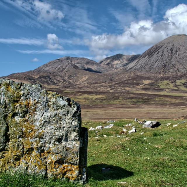 """""""The Isle of Skye"""" stock image"""