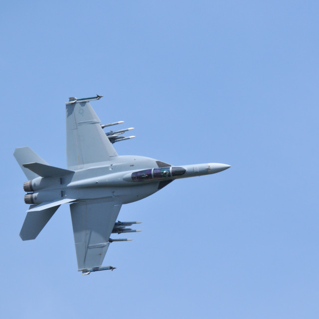 """Super Hornet"" stock image"