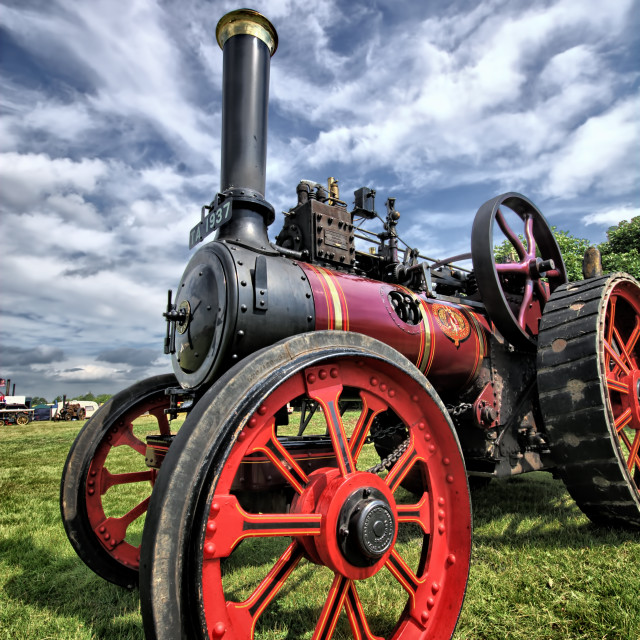 """Pickering Steam Rally"" stock image"