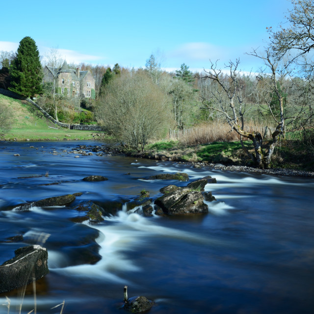 """River Allan"" stock image"