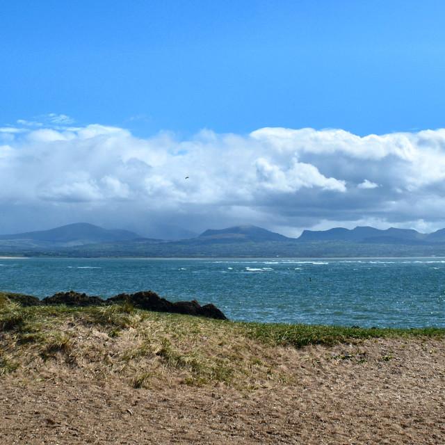 """""""Ynys Llanddwyn Island"""" stock image"""