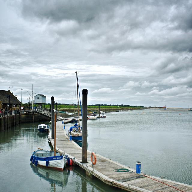 """Quay, Wells - next - the - Sea"" stock image"