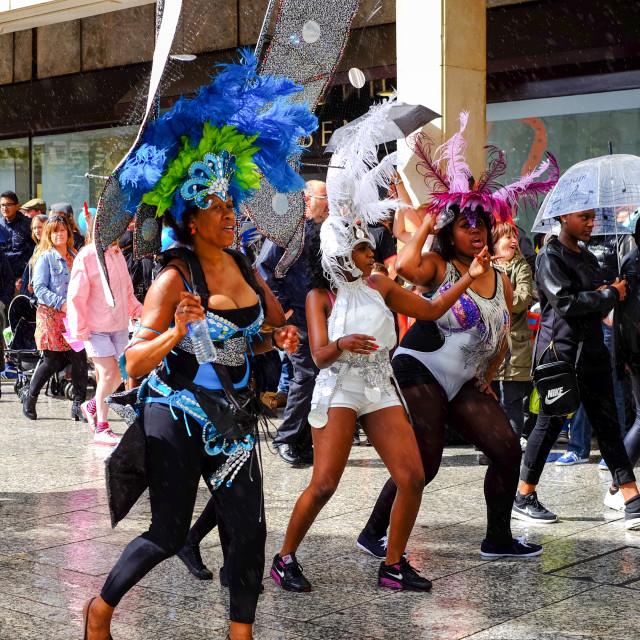 """Nottingham Caribbean Carnival 2014.UK."" stock image"