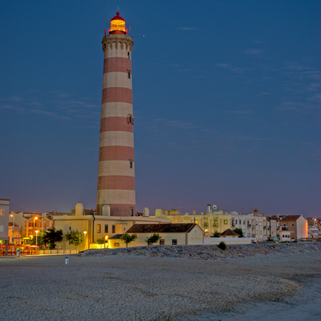 """""""Lighthouse in Aveiro, Portugal"""" stock image"""