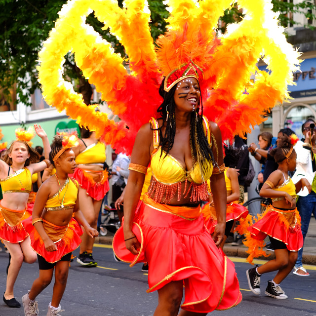 """Nottingham Caribbean Carnival 2014.UK."" stock image"