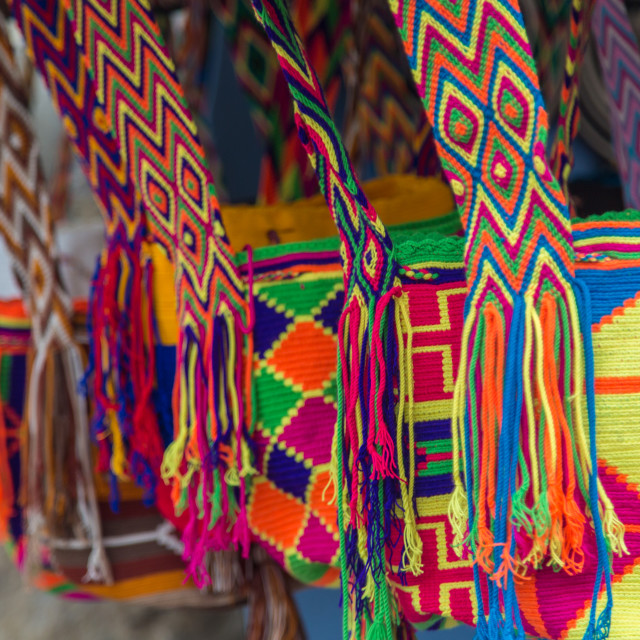 """Colombian Bags"" stock image"