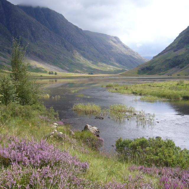 """Glencoe Scotland"" stock image"