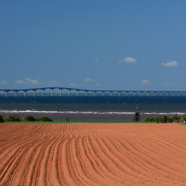 """Bridging Paradise"" stock image"