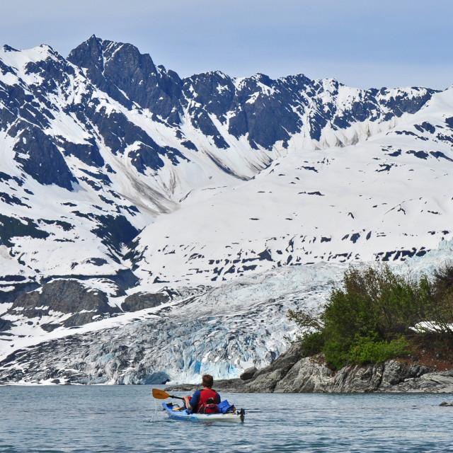 """Alaska Adventure Travel"" stock image"