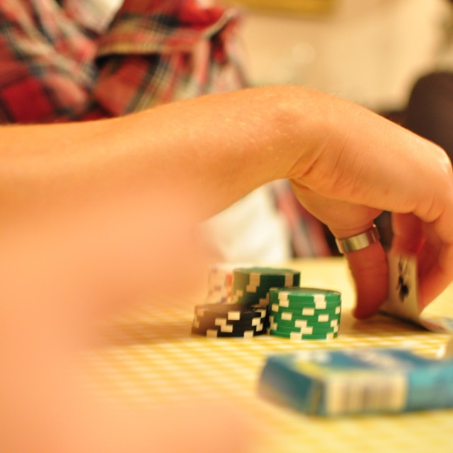 """Poker night 2"" stock image"