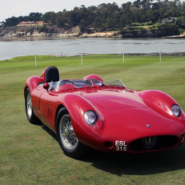 """Maserati 250S by Fanutzzi"" stock image"