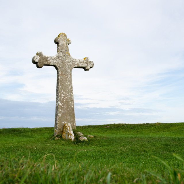 """Ancient cross"" stock image"