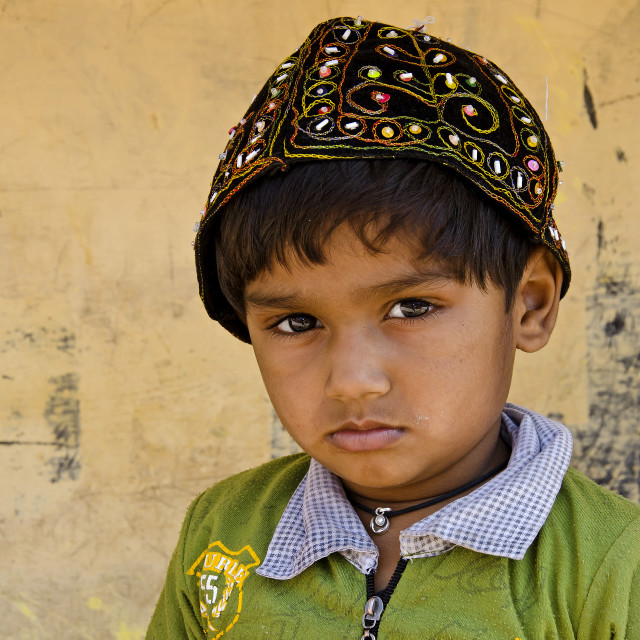 """JODHPUR BOY"" stock image"