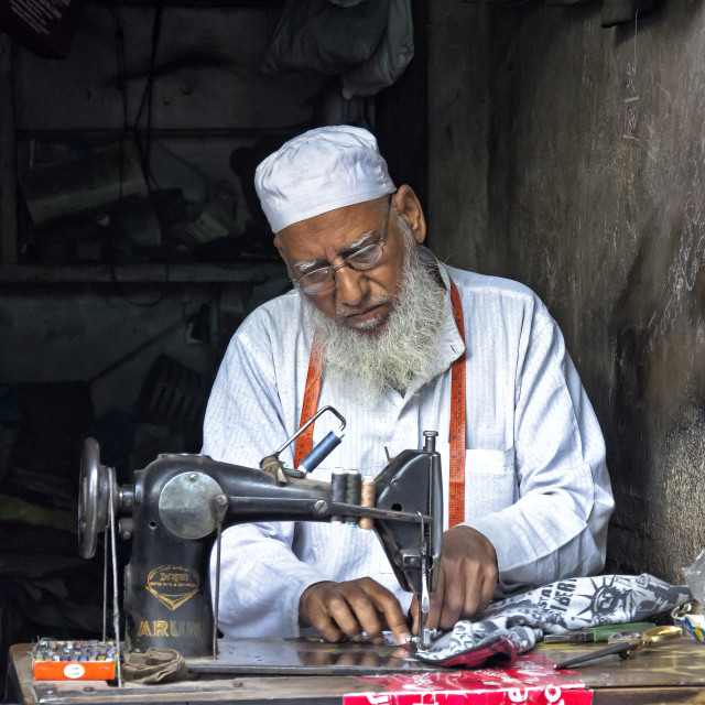 """THE TAILOR"" stock image"