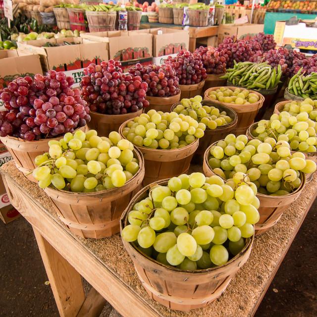 """Farmers Market"" stock image"