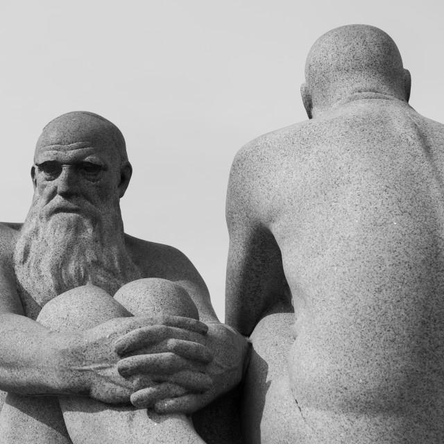 """""""Statues"""" stock image"""