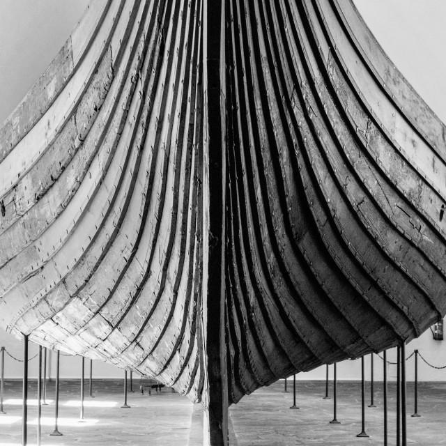 """""""Viking Ship Hull"""" stock image"""