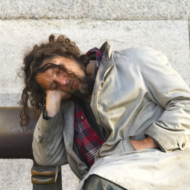 """Homeless"" stock image"