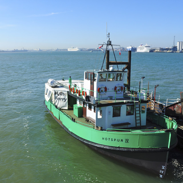 """Hythe Ferry"" stock image"