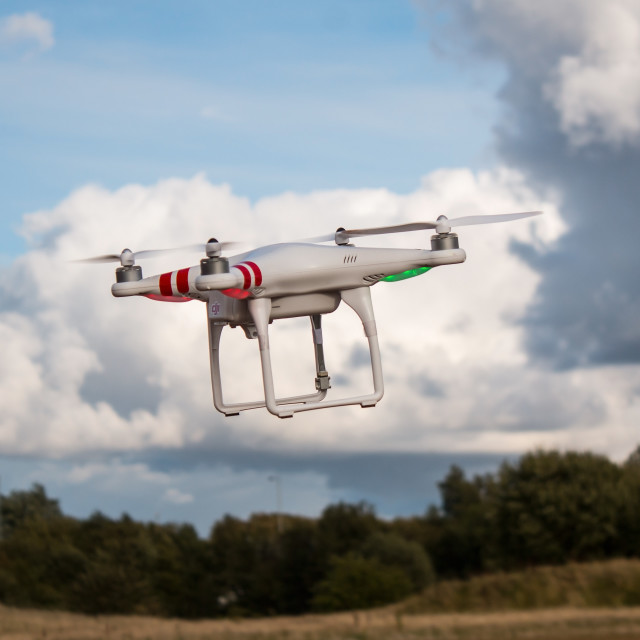 """DJI Phantom"" stock image"