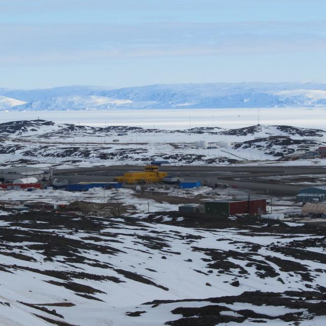 """Iqaluit, Nunavut, Canada"" stock image"