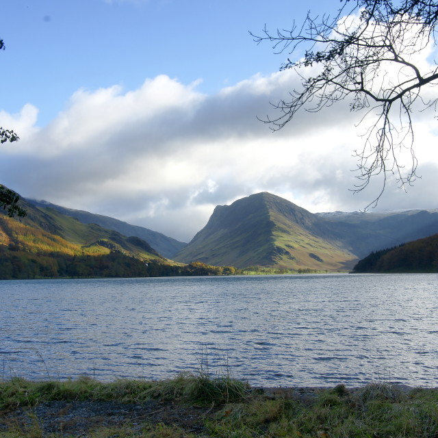 """Fleetwith Pike"" stock image"