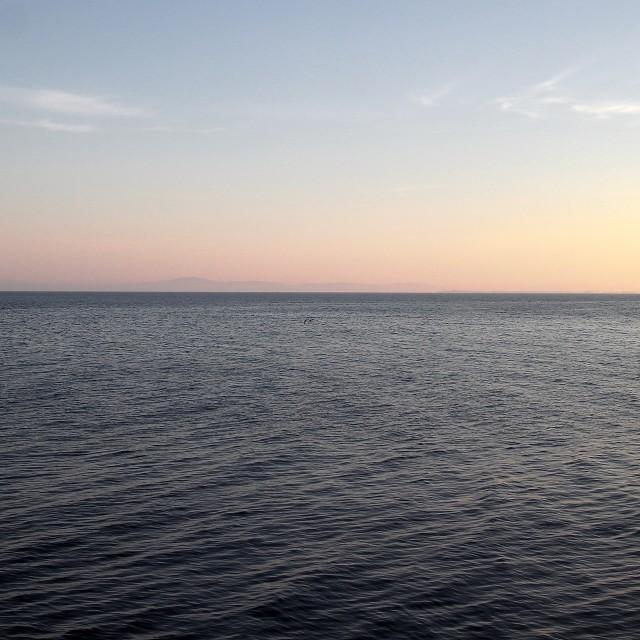 """The Black sea at Nessebar"" stock image"